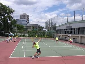 テニス(筑附会場)