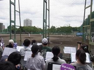 野球(学習院会場)