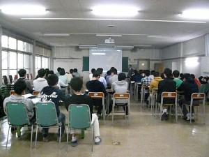 気象予報士の教諭による講義
